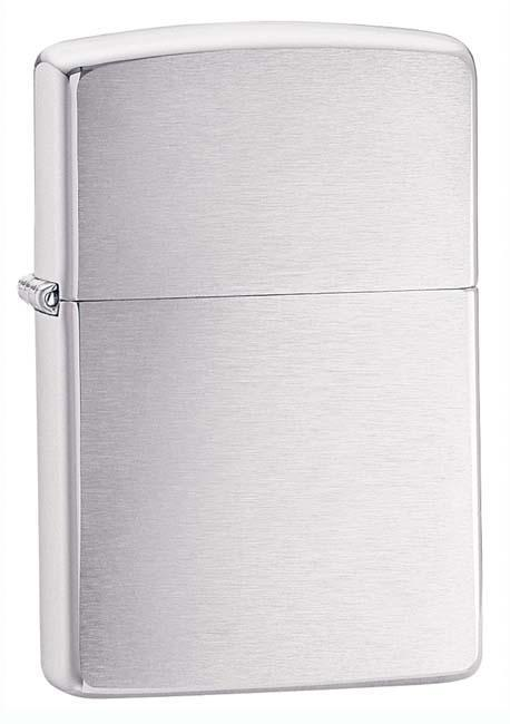 Zippo Lighter: Armor - Brushed Chrome 162 - Gear Exec