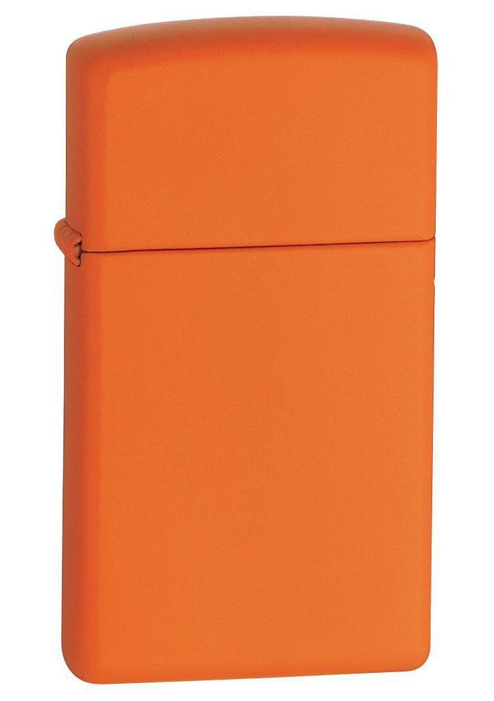 Zippo Lighter: Slim - Orange Matte 1631