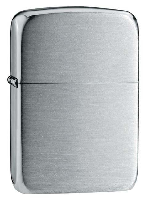 Zippo Lighter: 1941 Replica, Solid Sterling Silver - Hand Satin 24 - Gear Exec