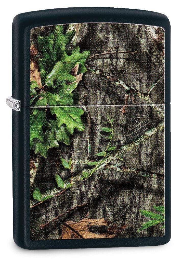 Zippo Lighter: Mossy Oak Obsession - Black Matte 29893