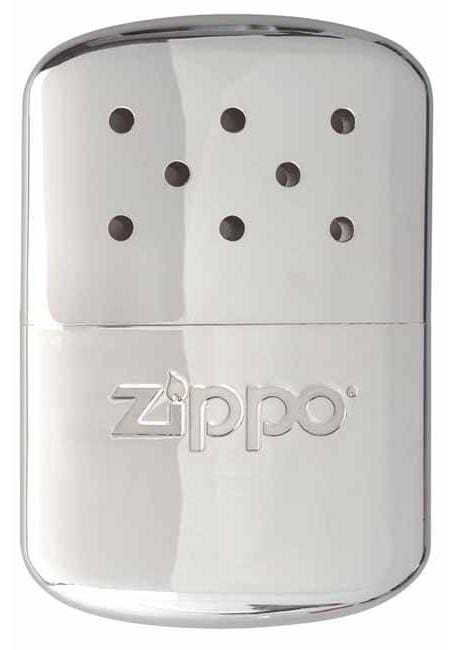 Zippo 12-Hour Hand Warmer - High Polish Chrome 40323 - Gear Exec