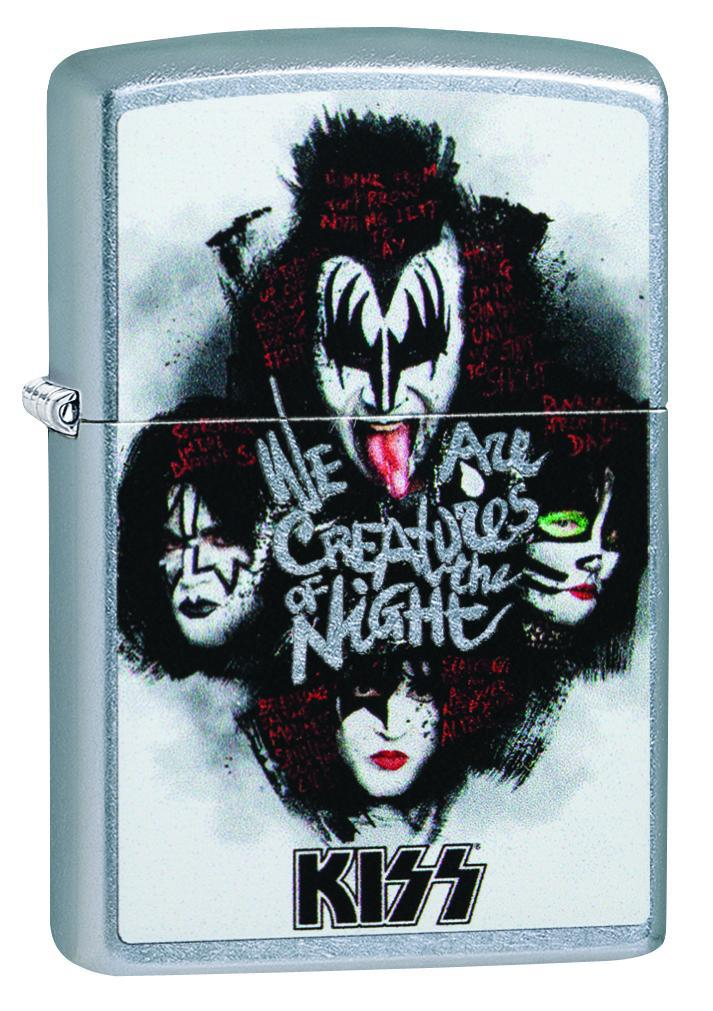 Zippo Lighter: KISS, We are Creatures of the Night - Street Chrome 49018