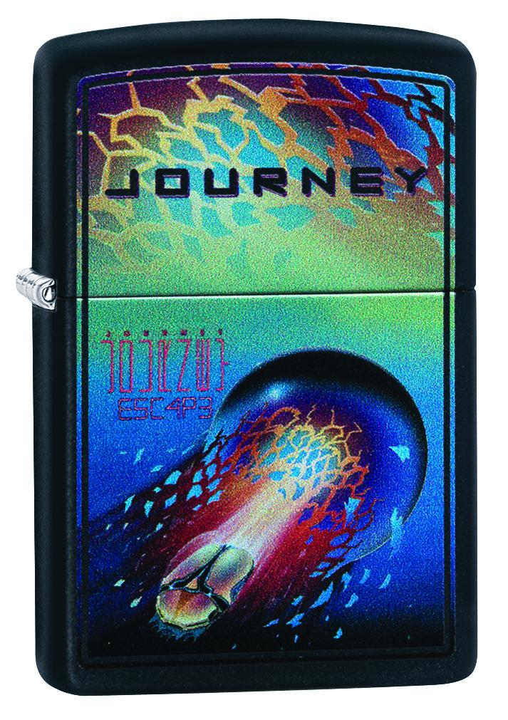 Zippo Lighter: Journey, Escape Album Cover - Black Matte 49029