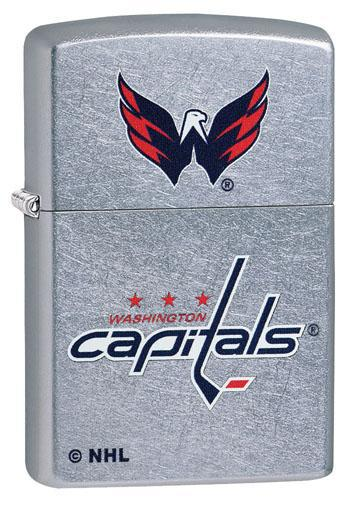 Zippo Lighter: NHL Hockey, Washington Capitals - Street Chrome 49389