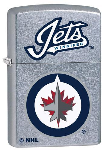 Zippo Lighter: NHL Hockey, Winnipeg Jets - Street Chrome 49390