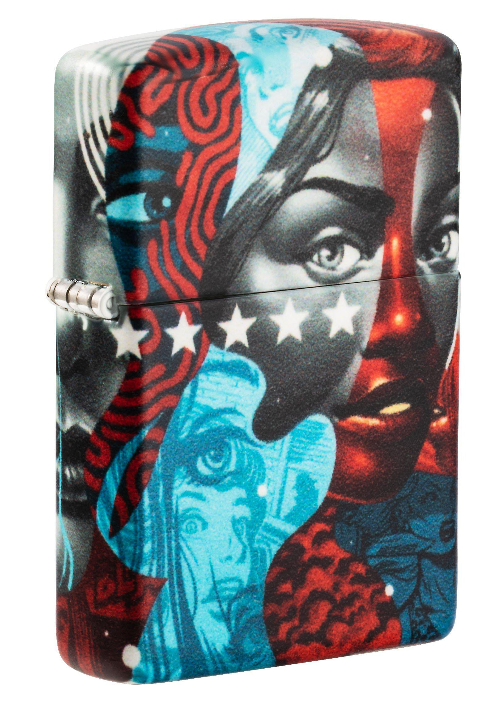 Zippo Lighter: American Power by Tristan Eaton - 540 Color 49393