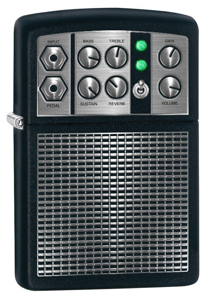 Zippo Lighter: Stereo Amplifier - Black Matte 78084