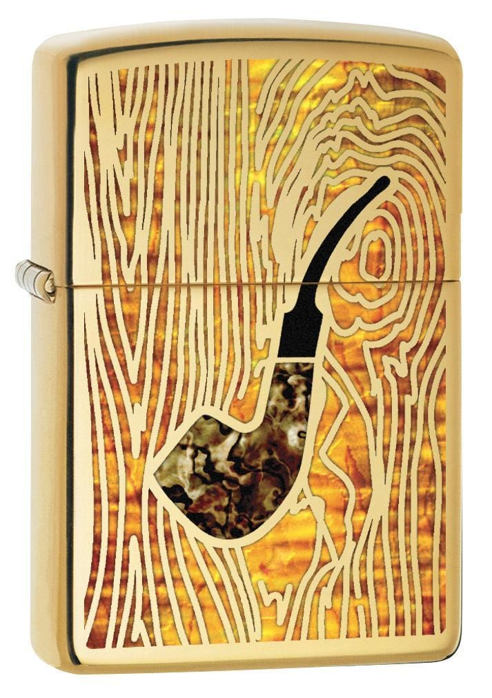 Zippo Pipe Lighter: Fusion Pipe - High Polish Brass 78213 (1975605723251)