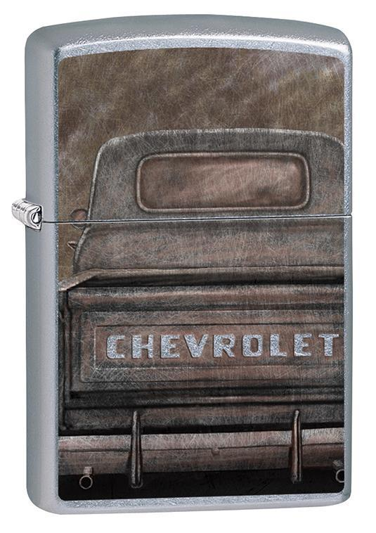 Zippo Lighter: Chevrolet Vintage Pickup Truck - Street Chrome 79611 - Gear Exec