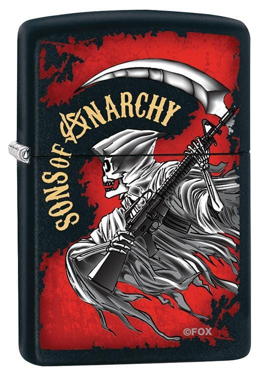 Zippo Lighter: Sons of Anarchy Rifle - Black Matte 79698