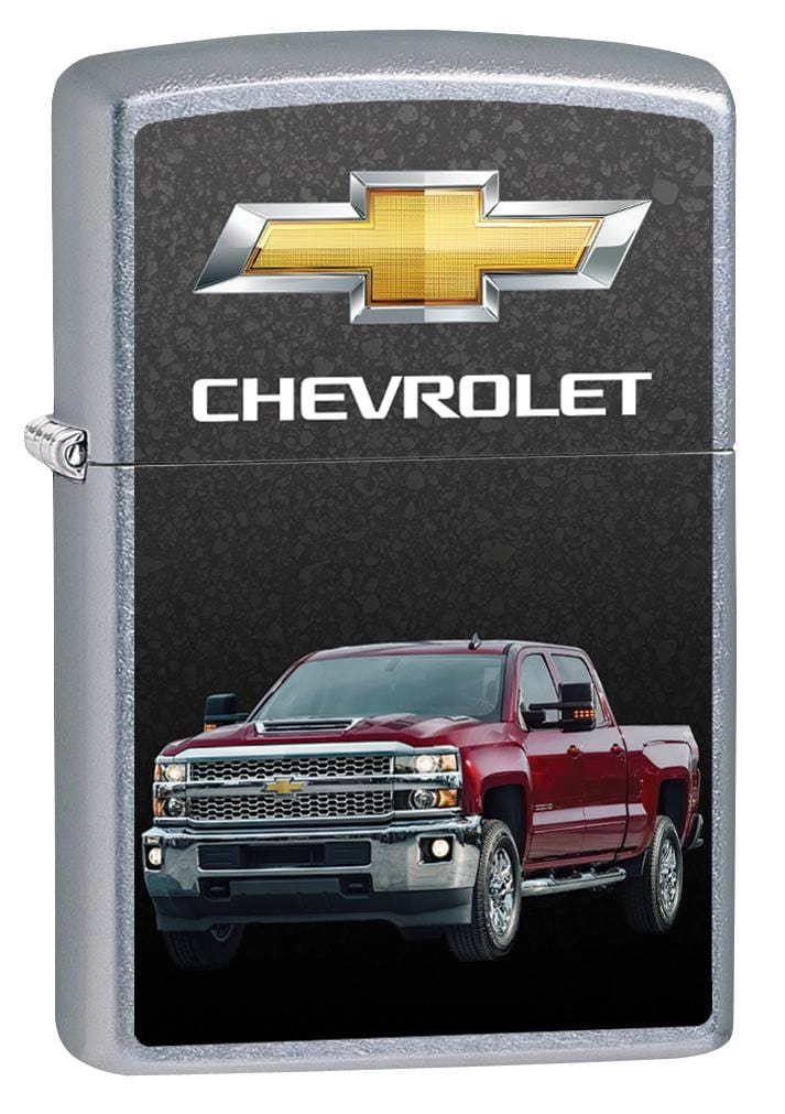 Zippo Lighter: Chevrolet Silverado Pickup Truck - Street Chrome 80028