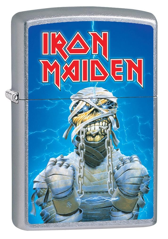 Zippo Lighter: Iron Maiden. Powerslave - Street Chrome 80052