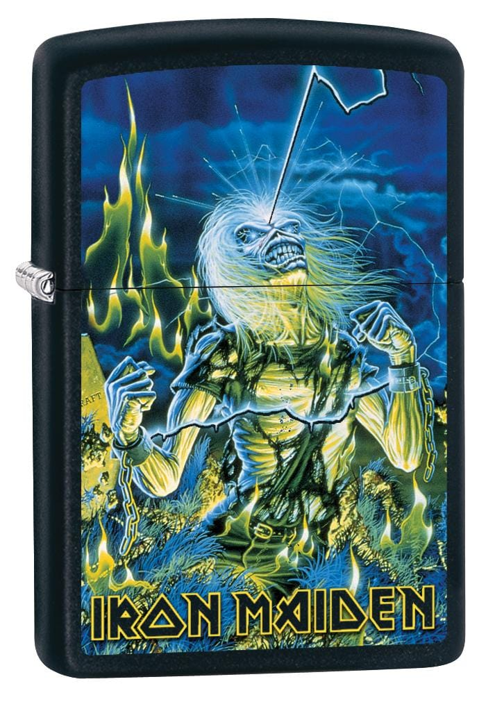 Zippo Lighter: Iron Maiden, Live After Death - Black Matte 80055 (2029568655475)