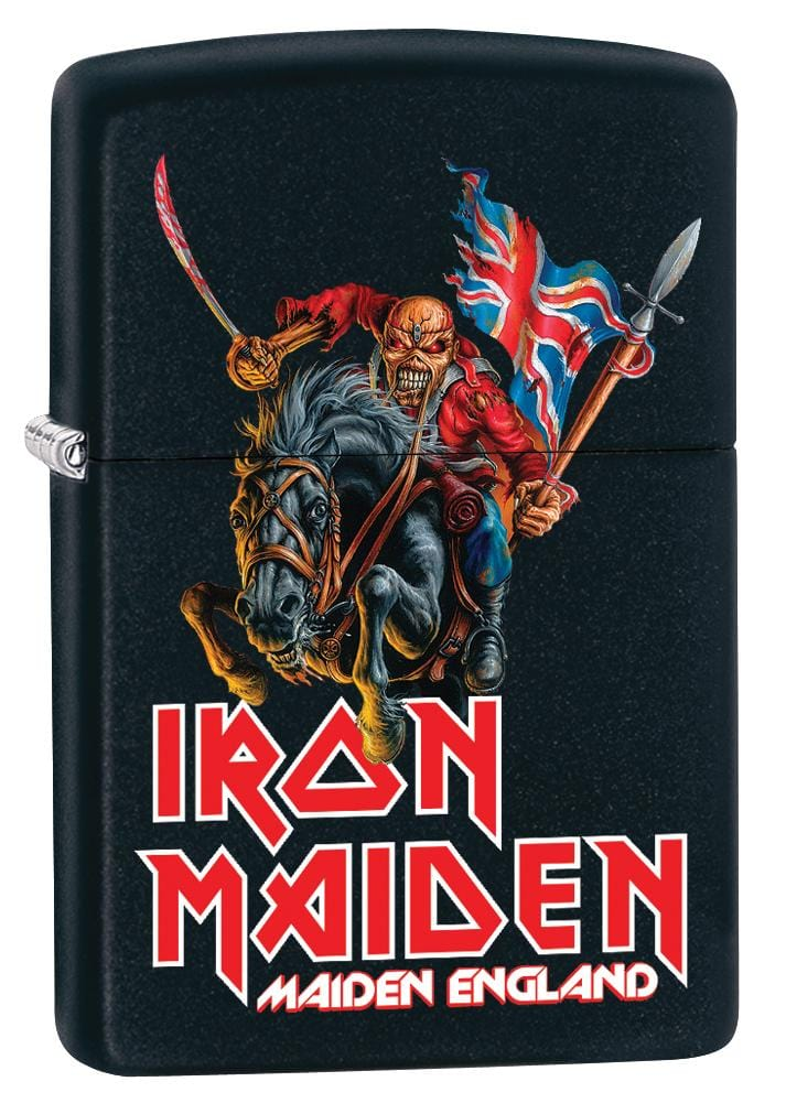 Zippo Lighter: Iron Maiden, Maiden England - Black Matte 80058