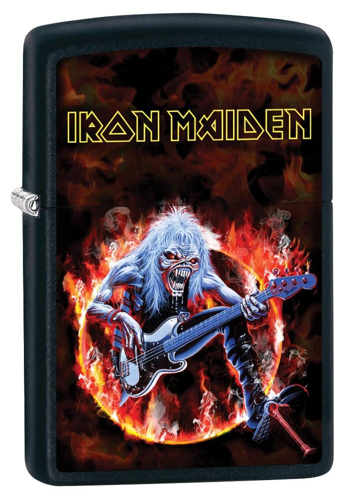 Zippo Lighter: Iron Maiden, Fear of the Dark - Black Matte 80061