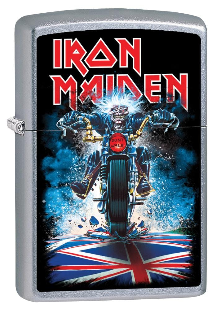 Zippo Lighter: Iron Maiden, Maiden England 2014 - Street Chrome 80064