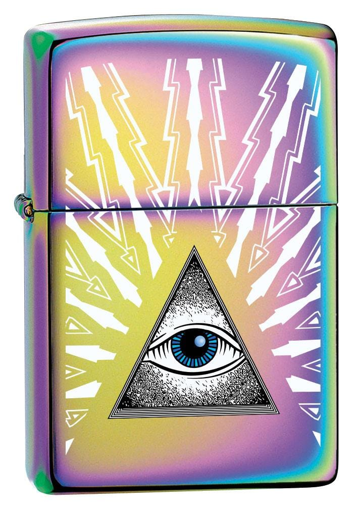 Zippo Lighter: Eye of Providence - Spectrum 80172