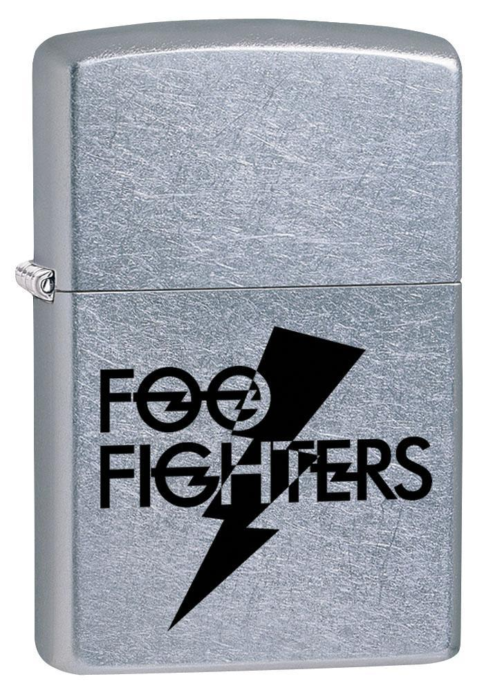 Zippo Lighter: Foo Fighters Logo - Street Chrome 80346 (4269194805363)