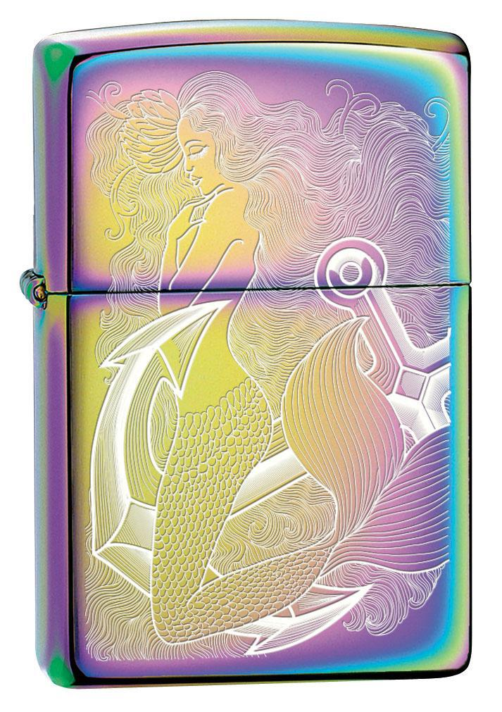 Zippo Lighter: Mermaid Engraved - Spectrum 80622 (4269198049395)