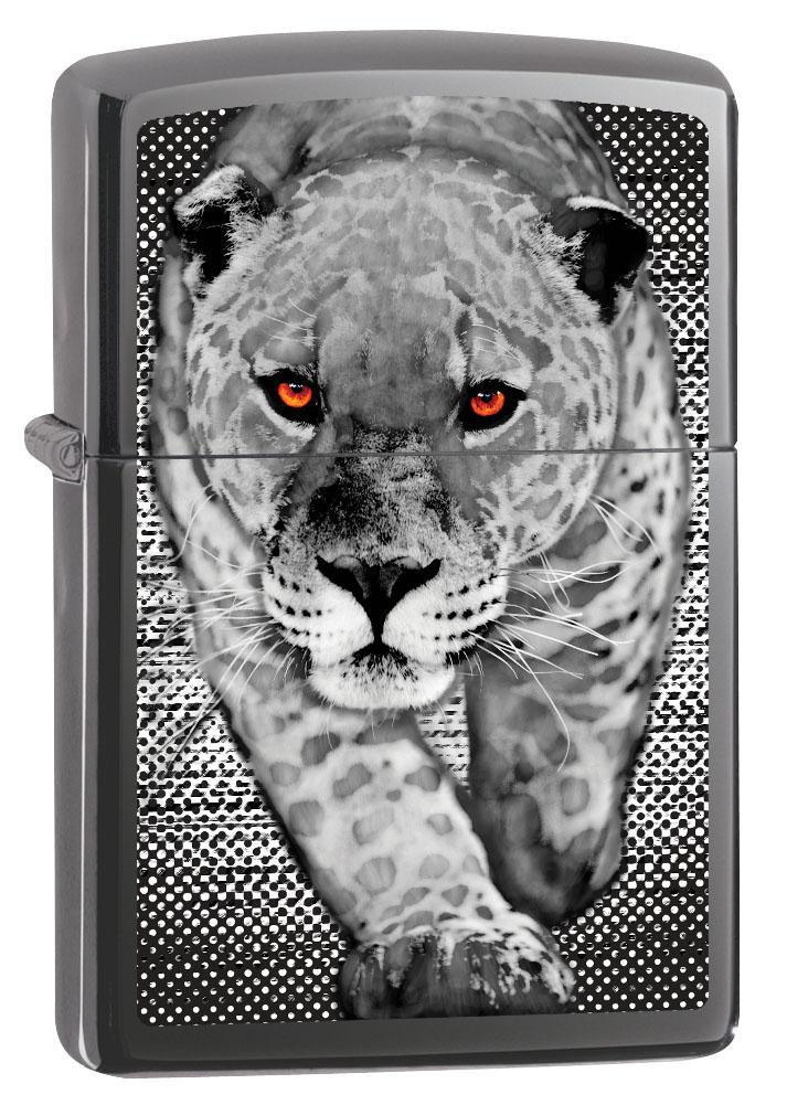 Zippo Lighter: Panther on the Prowl - Spectrum 80637
