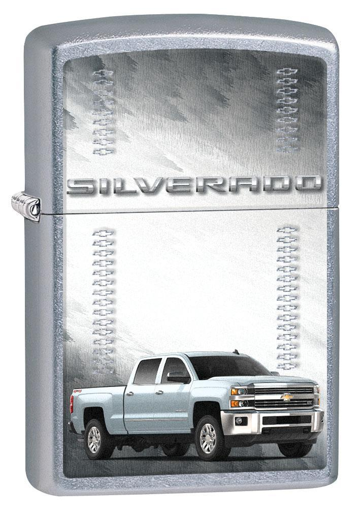 Zippo Lighter: Silverado Pickup Truck - Street Chrome 80661