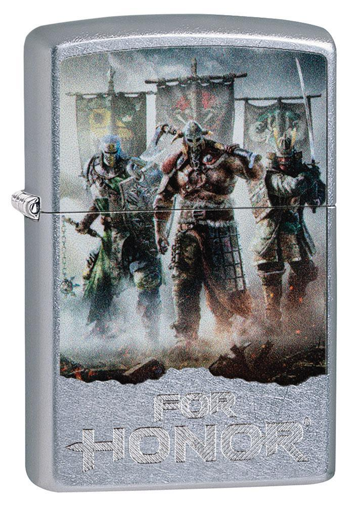 Zippo Lighter: For Honor, Warriors - Street Chrome 80908