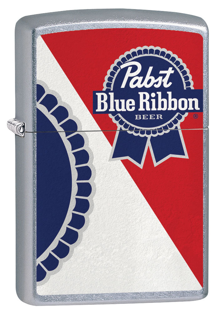 Zippo Lighter: Pabst Blue Ribbon Beer - Street Chrome 80930