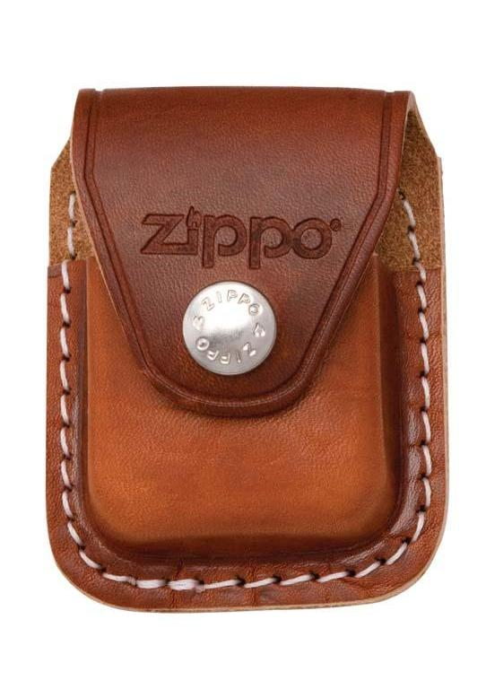 Zippo Lighter Pouch with Clip - Brown LPCB - Gear Exec (1975639572595)