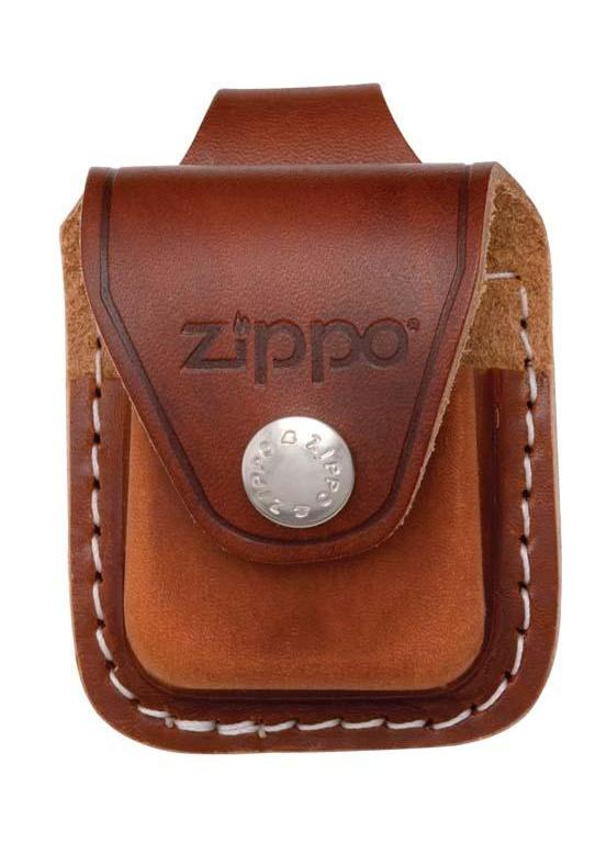 Zippo Lighter Pouch with Loop - Brown LPLB - Gear Exec (1975639933043)