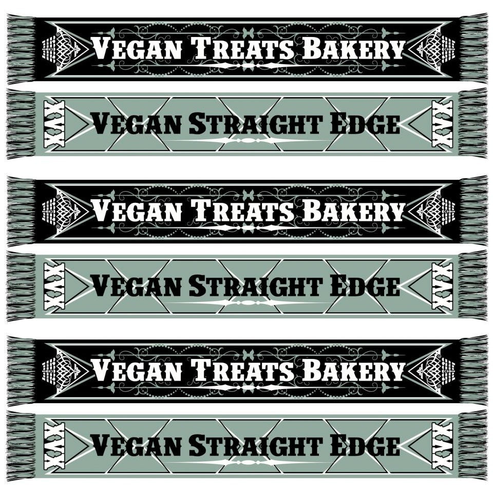 Vegan Straight Edge Scarf
