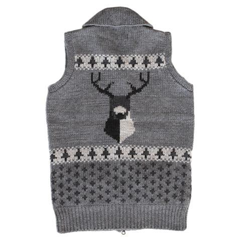 DAY by Granted - Free Deer Vest Charcoal