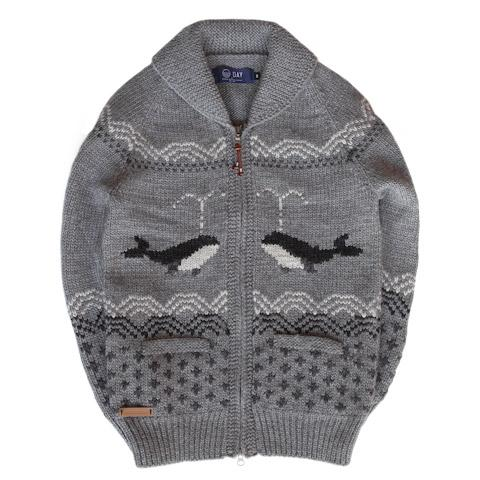 DAY by Granted - Free Whale Sweater Charcoal