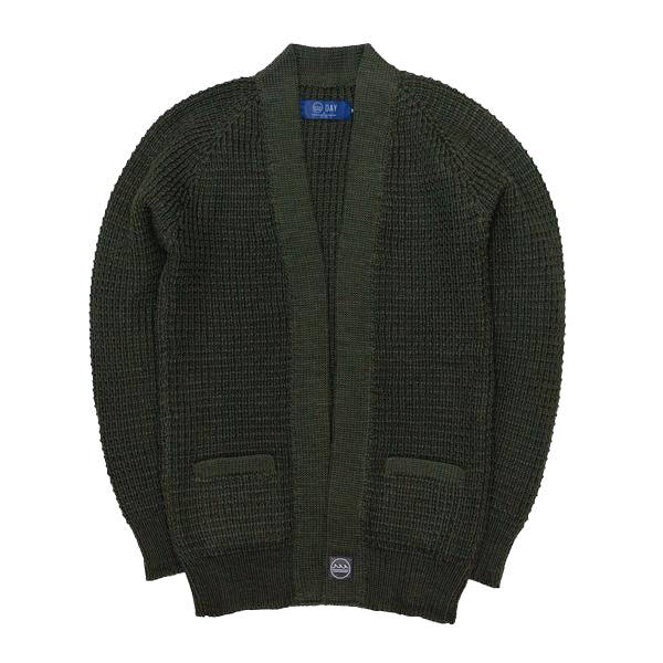 DAY by Granted - Sands Cardigan Earth Green