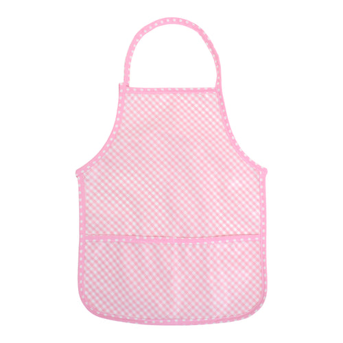 3 Marthas Pink Wipeable Childrens Smock