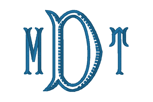 Baroque Monogram