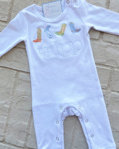 Boy's Long Romper