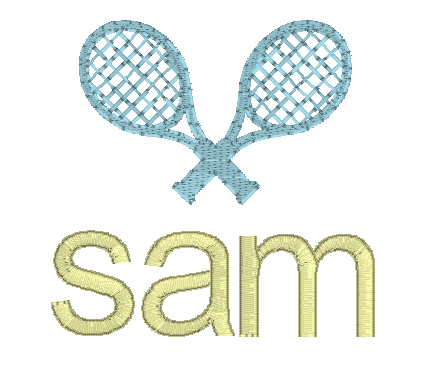 Tennis Racket Mini