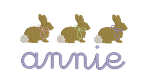 Mini Bunnies with Bows