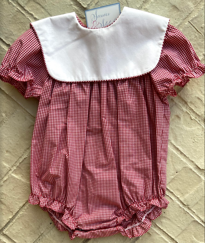 Girl's Gingham Bubble (Color Options)