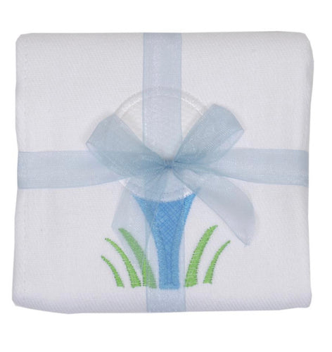 3 Marthas Golf Appliqué Burp Cloth