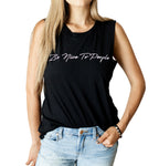 """Be Nice To People"" Womens Tank"