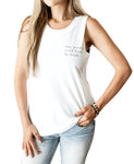 """Stay Positive Be Kind "" Womens Tank"