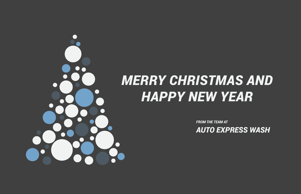 Auto Express Car Wash Merry Christmas