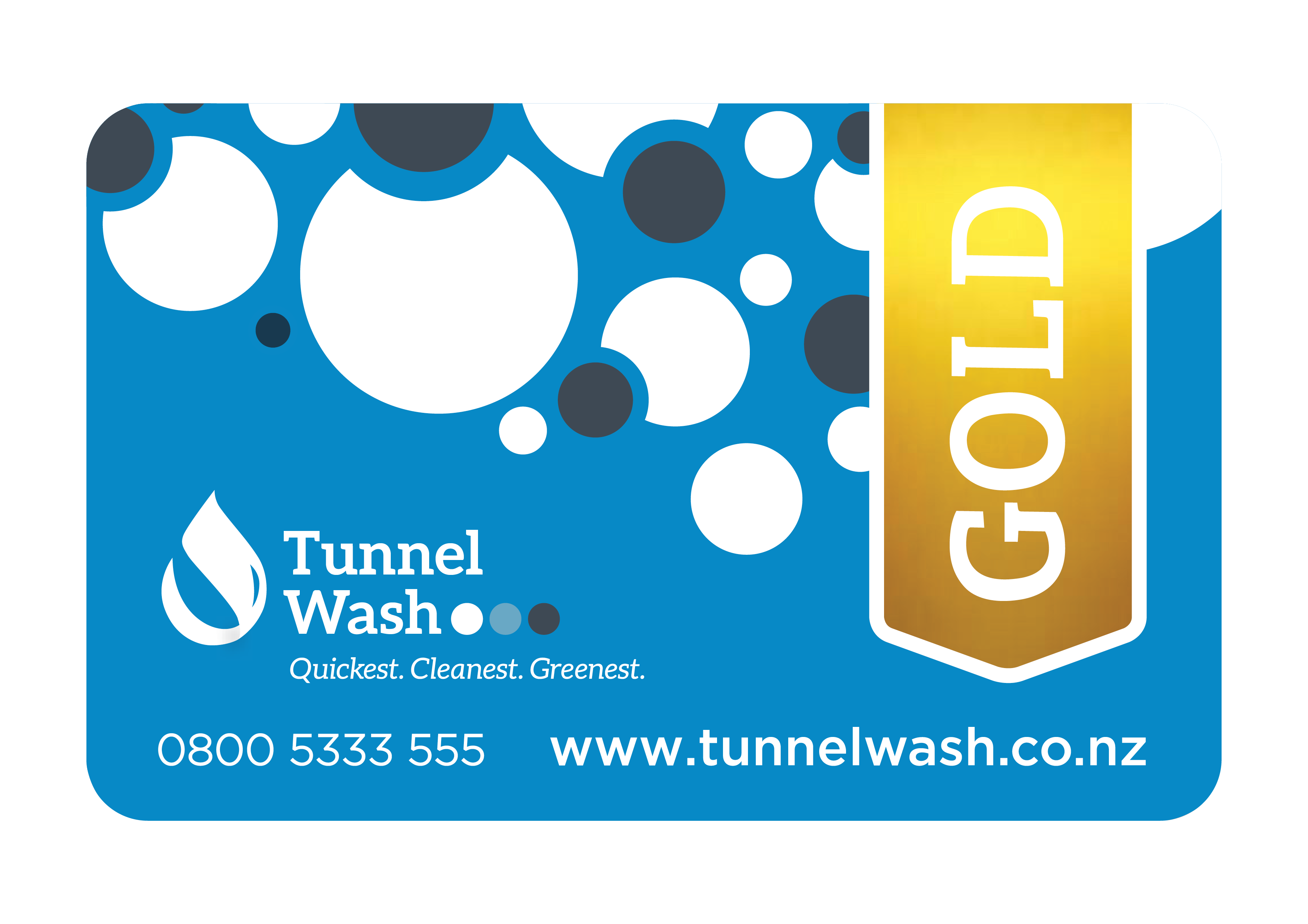 Gold 5 Pack (+ Get One Wash FREE)
