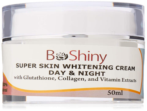 Super Skin Whitening Face Cream Day & Night with Glutathione Collagen and Vitamin Extracts