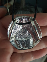 Load image into Gallery viewer, Sterling Silver Deco Pendant