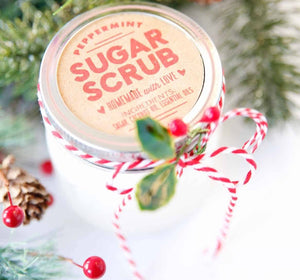 Peppermint Sugar Scrub~Therapeutic Grade Essential Oils
