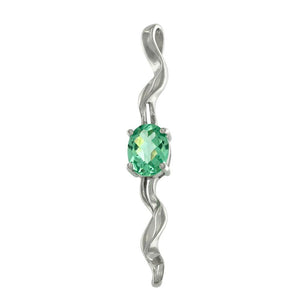 Green Spinel Pendant