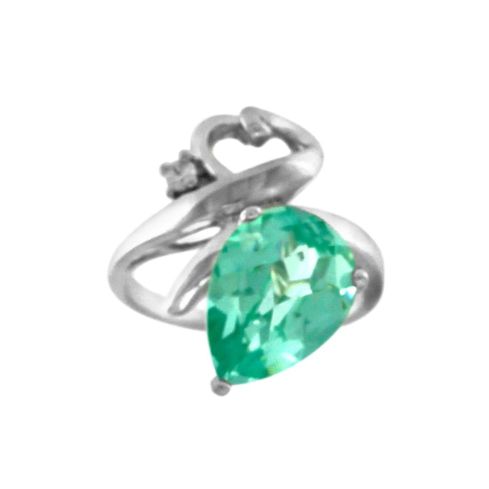 Green Spinel Ring