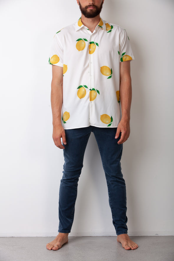 White Lemon Breakfast Shirt